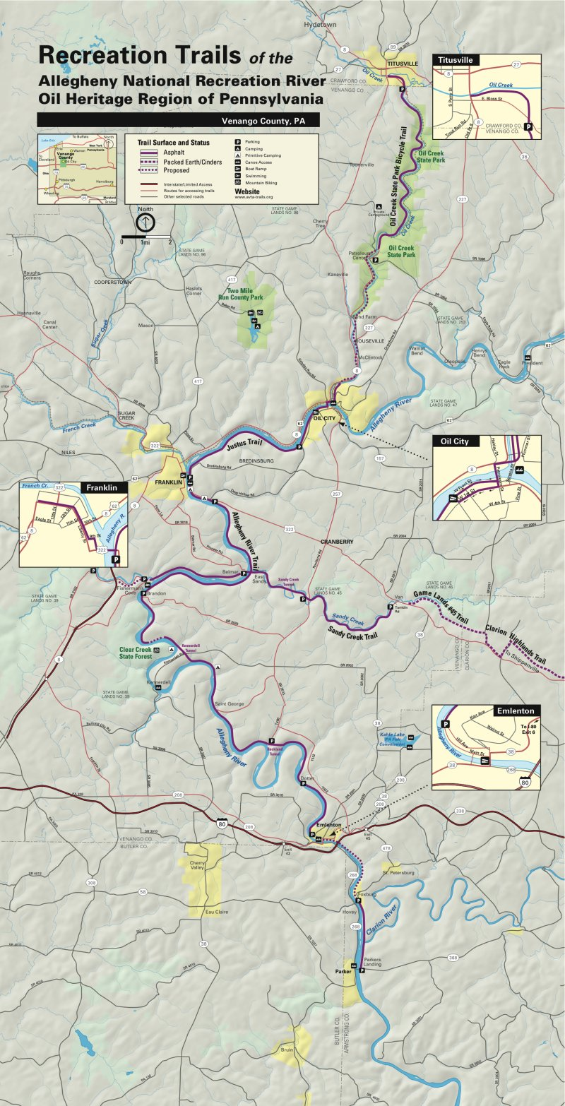 Allegheny River Watershed Map  NYS Dept of Environmental