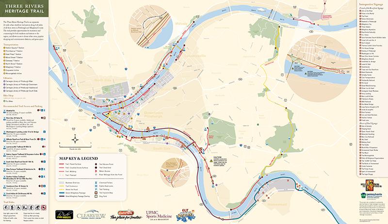 Three Rivers Heritage Trail  Pittsburgh PA